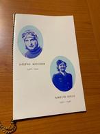 LIVRET -Hélène BOUCHER ET Maryse Hilsz ( Voire Scan € - 1960-.... Cartas