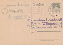 Berlin / Postkarte Mi. P 31 Gestempelt (D052) - Postcards - Used