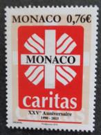 MONACO 2015 Y&T N° 2971 ** - CARITAS XXVe ANNIV. - Nuevos