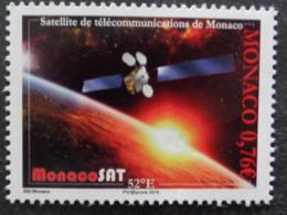 MONACO 2015 Y&T N° 2972 ** - SATELLITE DE TELECOMMUNICATIONS DE MONACO - Nuevos