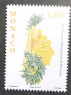 MONACO 2015 Y&T N° 2981 ** - 48e CONCOURS INTERN. DE BOUQUETS - Nuevos