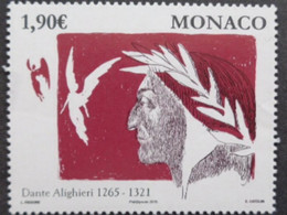 MONACO 2015 Y&T N° 2974  ** - DANTE ALIEGHIERI 1265-1321 - Nuevos