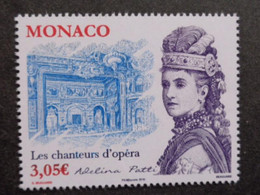 MONACO 2015 Y&T N° 3001 & 3002 ** - LES CHANTEURS D' OPERA - Nuevos