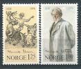 Norvège 1978  N°720/721 Neufs** Henrik Ibsen - Ungebraucht