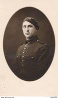 Carte-Photo - Portrait D'un Militaire Mécanicien (?) N°2 Sur Le Col Par Daujan à Toulouse - Guerra, Militari