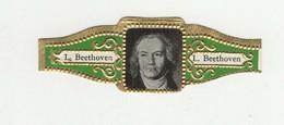 BAGUES DE CIGARES  1 EX.  L. BEETHOVEN - Sigarenbandjes