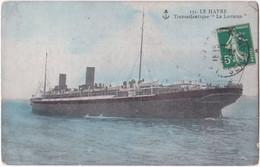 76. LE HAVRE. Transatlantique 'La Lorraine'. 131 - Zonder Classificatie