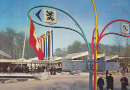 Brussel, Bruxelles, Expo 58, Paviljoen Van Zwitserland (pk74838) - Weltausstellungen