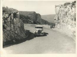 PHOTOGRAPHIE ORIGINALE DU RALLYE SOLEIL CANNES DE 1953 - Auto's