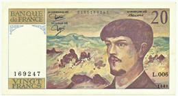 FRANCE - 20 Francs - 1980 - P 151.a - Serie L.006 - CLAUDE DEBUSSY - 20 F 1980-1997 ''Debussy''