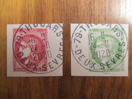 2020 Issu Du Carnet Cérès De Bordeaux Oblitéré Cachet Rond 24/11/2020 - Used Stamps