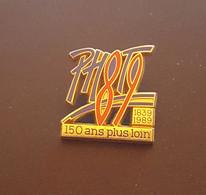 Pin's 150 Ans Plus Loin - Photo 1839/1989 - ARTHUS BERTRAND - Fotografia