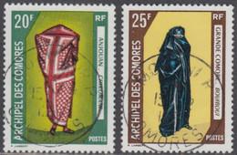 Comores (Archipel Des) - N° 58 & 59 (YT) N° 58 & 59 (AM) Oblitérés De Moroni RP. - Used Stamps