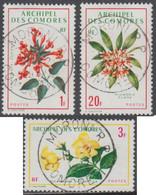 Comores (Archipel Des) - N° 69 à 71 (YT) N° 69 à 71 (AM) Oblitérés De Moroni RP. - Used Stamps