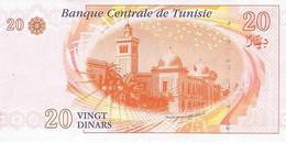 TUNISIA P. 93b 20 D 2011 UNC - Tusesië