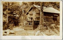 Camp. Sunapee, New London,  New Hampshire ( Real Photo PC - RPPC ) - Merrimack