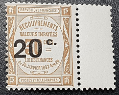 Taxe N° 49 Neuf ** Gomme D'origine  TTB - 1859-1955 Mint/hinged