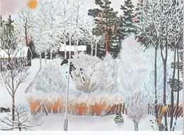 Meilleurs Voeux - Paysage De Neige - Par Inari Krohn, Finlande - Santa Claus
