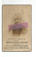 DD 546. MARIE-EMILIE DEVUE Echtg. B. Sacre - °SCHALKHOVEN 1858 / +STRAETEN-ST-TRUIDEN 1942 - Andachtsbilder