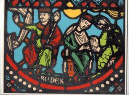 Illustration Couleur Avec Reliefs Sur Carton Rigide Rodes CH. Cannac S.A. Paris - Format : 27x21.5 Cm - Prenten & Gravure