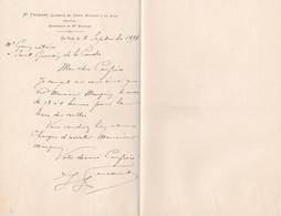 LA SUZE ME FEURANT LICENCIE EN DROIT NOTAIRE ANNEE 1898 - Unclassified