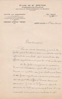 QUIMPER ME BRETON COMMISSAIRE PRISEUR DES VILLES ET ARRONDISSEMENT DE QUIMPER  ANNEE 1951 - Unclassified