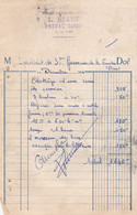 PREVAL L RIANT CHARRONNAGE FORGE MENUISERIE ANNEE 1954 - Unclassified