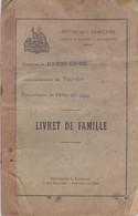 BEAUMONT SUR OISE LIVRET DE FAMILLE MR CHARLEMAGNE MME PORCHE ANNEE 1936 - Unclassified
