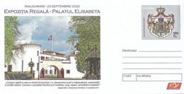 2020 - ROYALTY - ROYAL EXHIBITION AT ELISABETH PALACE - Postwaardestukken