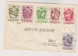 LIECHTENSTEIN,TRIESEN  1920  Nice  Registered Cover To Austria - Cartas