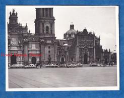 Photo Ancienne Snapshot - MEXICO CITY - Cathedral - Vers 1967 - Auto Automobile Histoire Mexique Urban Street - Auto's