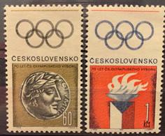 CZECHOSLOVAKIA - MNH**  - 1966 -  # 1415/1416 - Unused Stamps