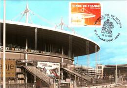 Carte Maximum YT 4142 Obl Spé Ill Tournoi Des Six Nations Au Stade De France 09 03 2008 TBE La-Plaine-Saint-Denis (93) - 2000-09