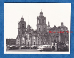 Photo Ancienne Snapshot - MEXICO CITY - Cathedral - Vers 1967 - Auto Camion Automobile Histoire Mexique Urban Street - Auto's