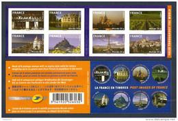 2009 Carnet Adhésif La FRANCE En Timbres-N° BC 329 - NEUF - LUXE ** NON Plié - Commemoratives