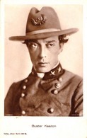 CINEMA - ACTEUR : BUSTER KEATON - CARTE VRAIE PHOTO / REAL PHOTO ~ 1920 - '30 - ROSS VERLAG (ag072) - Attori