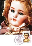 Carte Maximum YT 4394 Poupée En Porcelaine 1er Jour 17 10 2009 TBE Cachet SOULTZ (68) Les Poupées De Collection - 2000-09