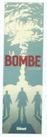 """MARQUE PAGE BD """" LA BOMBE """" éditions Glénat - Bookmarks"""