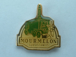 PIN'S CAMION - MOURMELON SUBSISTANCES - Transportation