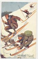Illustrateur Schoenpflug - Neige Montagne Ski  - - Schoenpflug, Fritz