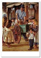 KIDS And Ice Cream Seller On Street JIM DALY KIDS ART Modern Postcard - Sin Clasificación