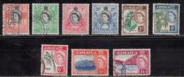 Jamaica Scott # 159//69 Used - QEII & Various - Giamaica (...-1961)