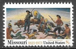 1971 8 Cents Missouri Mint Never Hinged - Unused Stamps