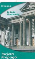 GUATEMALA - Quetzaltenango, Movistar By Telefonica Prepaid Card Q50, 01/05, Used - Guatemala