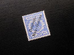 DR Mi 6  20Pf*  Deutsche Kolonien (Deutsch-Neuguinea) 1897 - Mi 12 € - Geprüft - Colonia: Nueva Guinea
