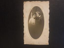 CDV Ancienne  Année 1916. Portrait De 2 Femmes. Photographe LAFONT À BORDEAUX - Anciennes (Av. 1900)