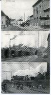 3 Cartes Postales - REPRODUCTIONS - Belgique - Frameries - Grand Trait - La Gare - Charbonnage  (DG15022) - Frameries