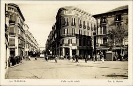 CPA Málaga Andalusien Spanien, Calle 14 De Abril, Victoria Hotel - Sonstige