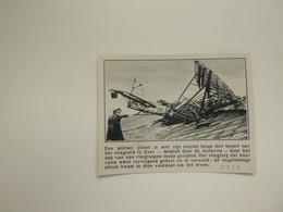 """Origineel Knipsel ( 9206 ) Uit Tijdschrift """"  De Stad """"  1934 :   Vliegveld  Evere - Non Classificati"""