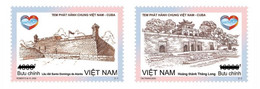 Vietnam Viet Nam Booklet With Stamps Joined Issue With Cuba On 2 Dec 2020 : World Heritage Sites : Citadel (Ms1136) - Vietnam